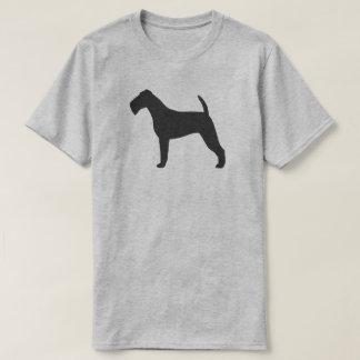 Camiseta Silhueta de Terrier irlandês