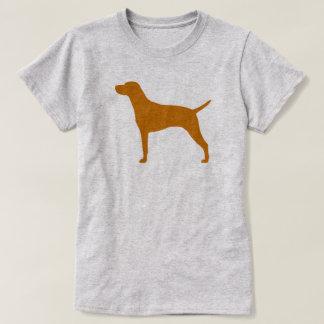 Camiseta Silhueta de Vizsla