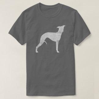 Camiseta Silhueta de Whippet