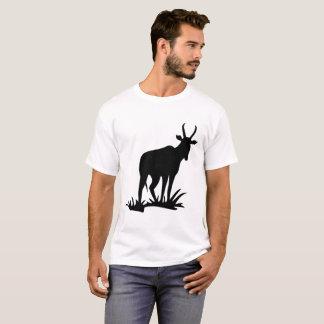 Camiseta Silhueta do antílope