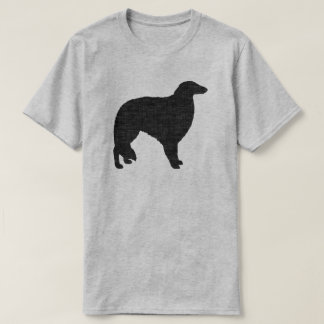 Camiseta Silhueta do Borzoi
