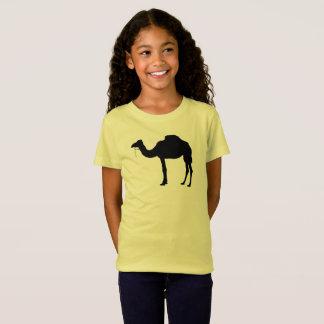 Camiseta Silhueta do camelo