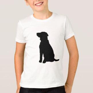 Camiseta Silhueta do cão