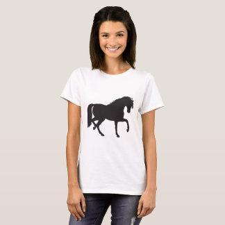 Camiseta Silhueta do cavalo