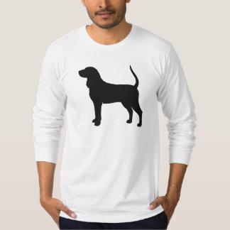 Camiseta Silhueta do Coonhound