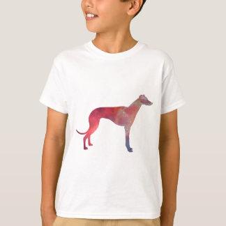 Camiseta Silhueta do cosmos do galgo