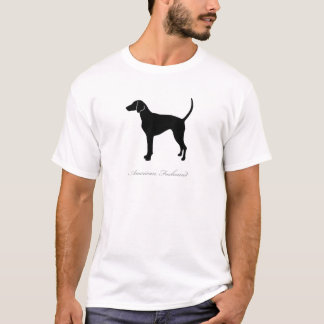 Camiseta Silhueta do Foxhound americano