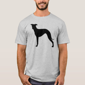 Camiseta Silhueta do galgo italiano