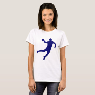 Camiseta Silhueta do handball