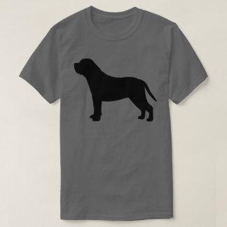 Camiseta Silhueta do Mastiff