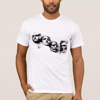 Camiseta Silhueta do Monte Rushmore