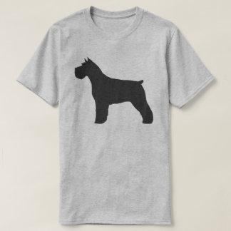 Camiseta Silhueta do Schnauzer