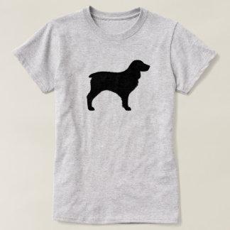 Camiseta Silhueta do Spaniel de Boykin