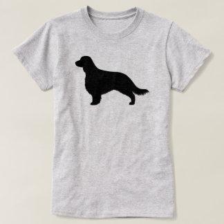 Camiseta Silhueta do Spaniel de galês Springer (cauda