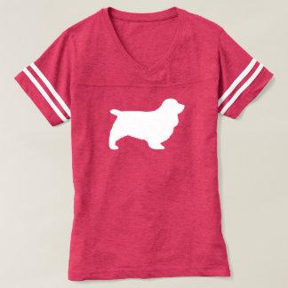 Camiseta Silhueta do Spaniel de Sussex