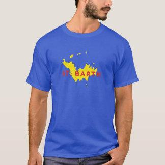Camiseta Silhueta do St. Barth