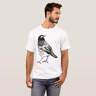 Camiseta Silhueta do tordo