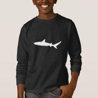 Camiseta Silhueta do tubarão