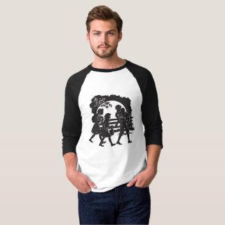 Camiseta Silhueta icónica das crianças do vagão coberto