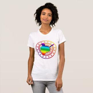 Camiseta Silhueta n1 do guitarrista