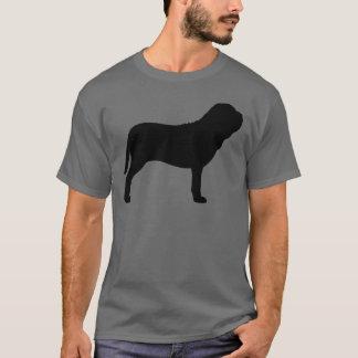 Camiseta Silhueta napolitana do Mastiff