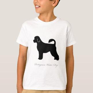 Camiseta Silhueta portuguesa do cão de água