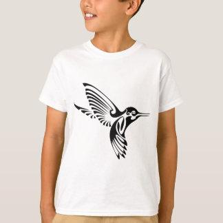 Camiseta Silhueta tribal do colibri