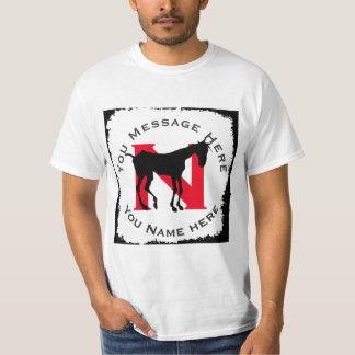 Camiseta Silhueta velha do nag