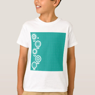 Camiseta Silhuetas da flor