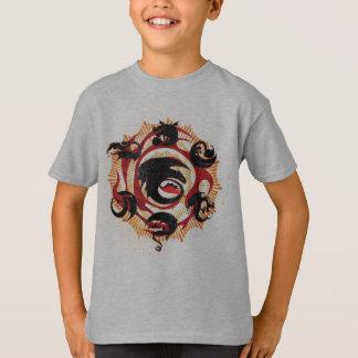 Camiseta Silhuetas do dragão