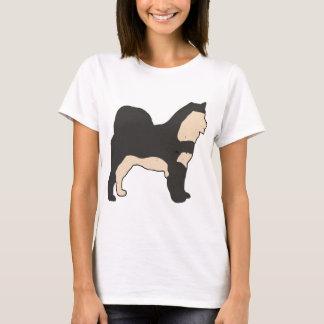 Camiseta Silo da cutia do Malamute do Alasca
