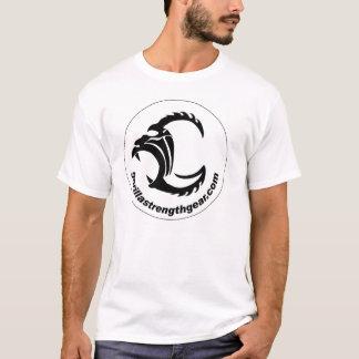 Camiseta Silverback da força do gorila