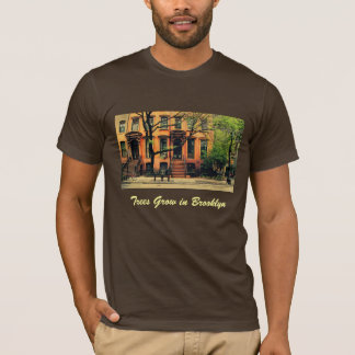 Camiseta Sim, as árvores crescem em Brooklyn