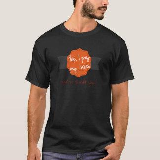 Camiseta Sim, eu pago meus impostos