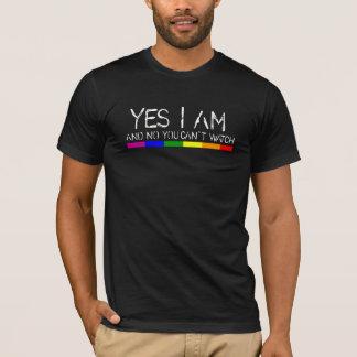 Camiseta Sim eu sou.