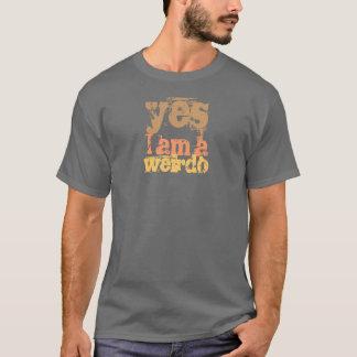 Camiseta sim eu sou um T da obscuridade do esquisito