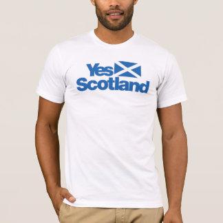 Camiseta Sim independência escocesa 2014 de Scotland