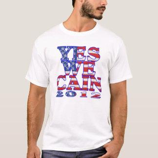 Camiseta sim nós bandeira de cain