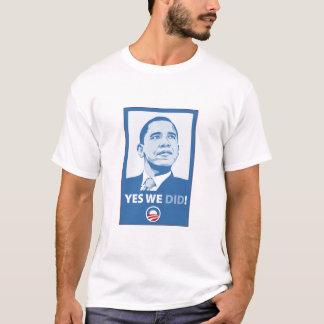 Camiseta Sim nós fizemos!