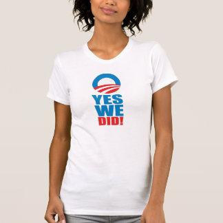 Camiseta SIM NÓS FIZEMOS o t-shirt
