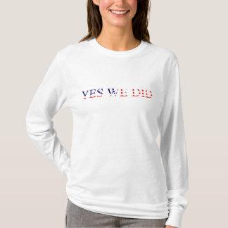 Camiseta Sim nós fizemos o t-shirt da bandeira americana