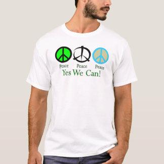 Camiseta Sim nós podemos (a paz)
