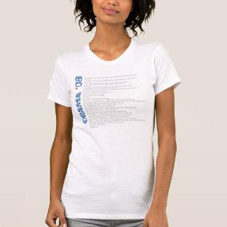 Camiseta Sim nós podemos - Obama '08 - personalizado