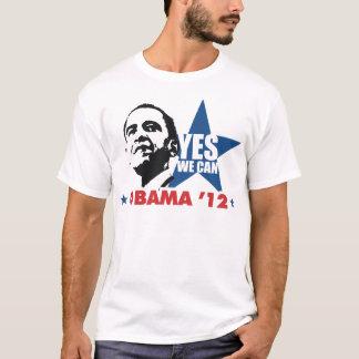 Camiseta sim nós podemos obama 12