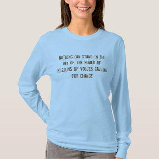 Camiseta Sim nós podemos!  Obama em 08