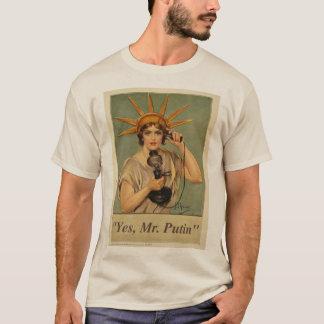 Camiseta Sim Sr. Putin T
