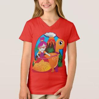 Camiseta Sim! Vidros do desgaste das princesas FAZER - pelo