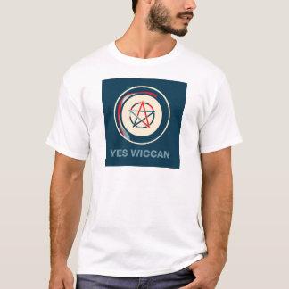 Camiseta Sim Wiccan!