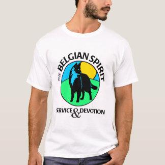 Camiseta Símbolo belga do espírito