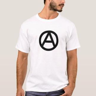Camiseta Símbolo da anarquia, com definição